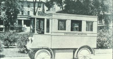First hospital ambulance